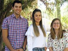 Carlos Weiler, Stephanie Gustavsson and Kira Zeider