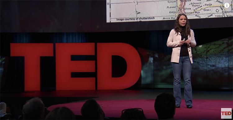 Jennifer Wilcox, April 2018 Ted Talk